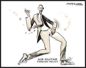 air guitar foreign policy